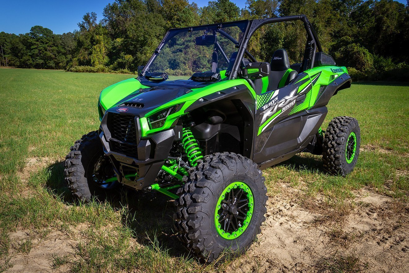 Seizmik Vented Windshield Double-Sided Poly -2014-2018 Polaris RZR XP 1000 UTV